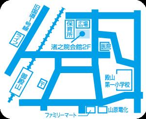 枚方・渚元町教室地図